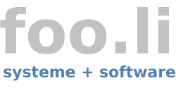 foo.li systeme + software
