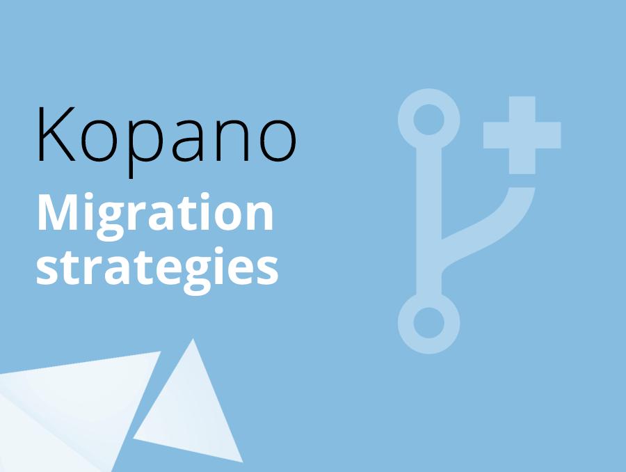 Kopano migration strategies