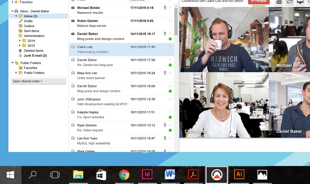 Kopano Releases December 2018 - DeskApp