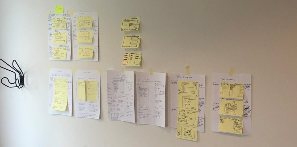 Kopano Design Sprint - Storyboard