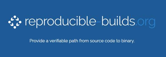 reproducible builds