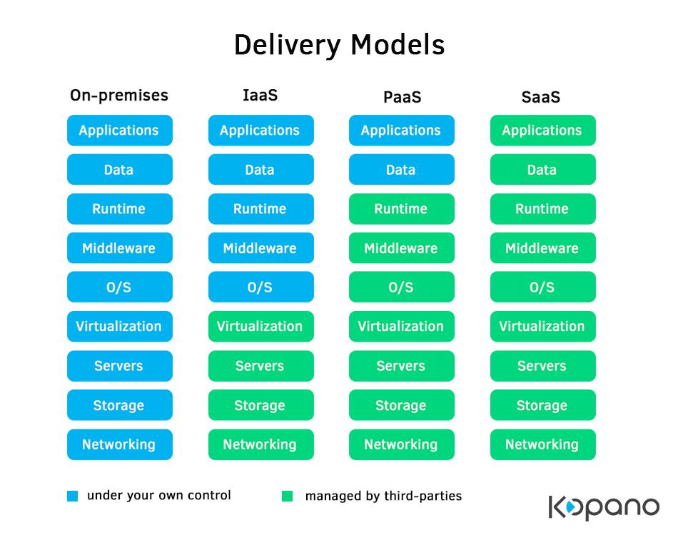 software delivery models